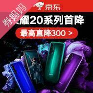 京東榮耀20系列最高直降300元